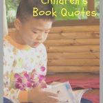 20 Inspiring Children's Book Quotes [Infographic]